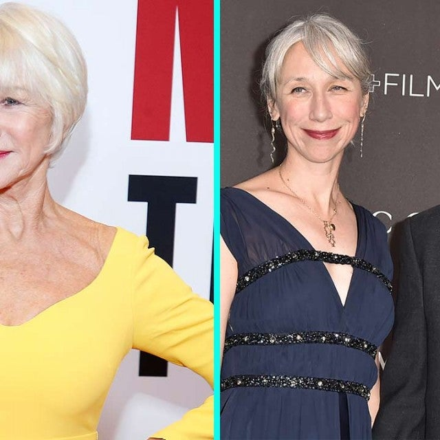 Helen Mirren with Alexandra Grant and Keanu Reeves