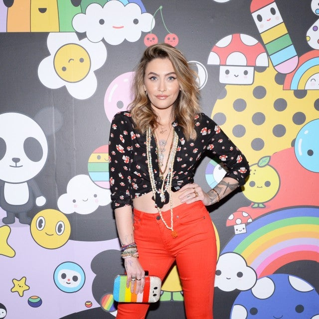 Paris Jackson at alice+olivia event
