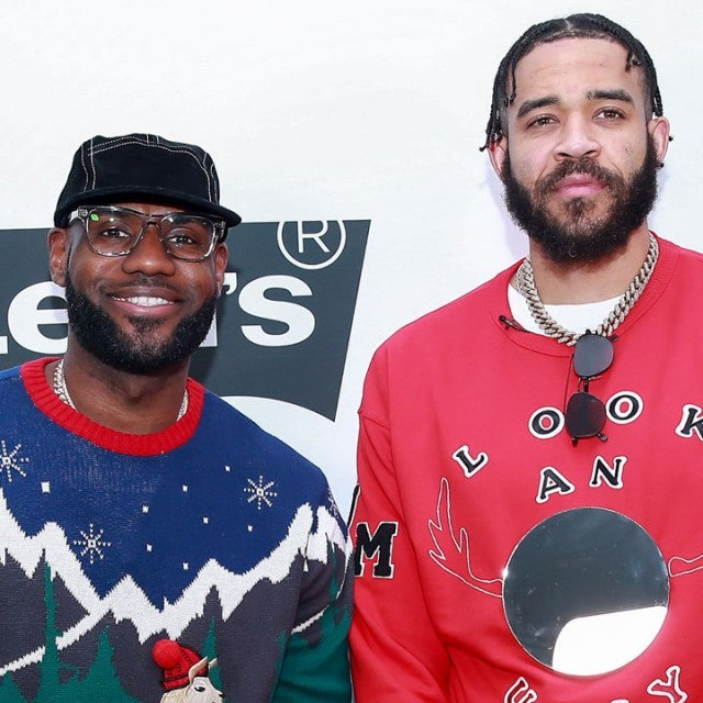 LeBron James and JaVale McGee