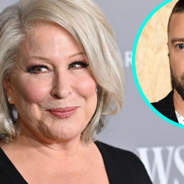Bette Midler and Justin Timberlake (inset)