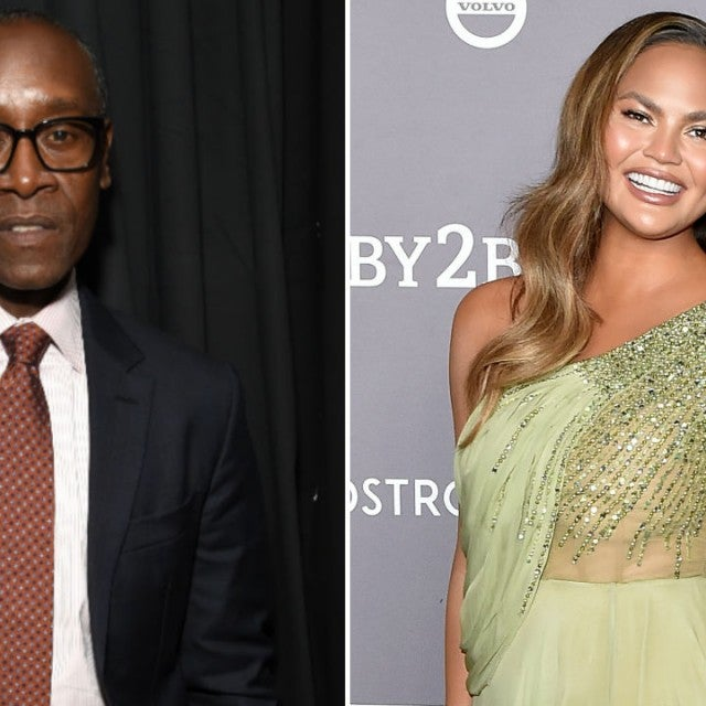 Don Cheadle and Chrissy Teigen