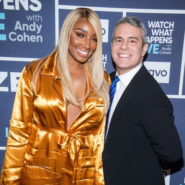 NeNe Leakes and Andy Cohen