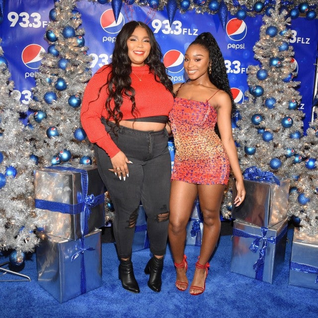 lizzo and normani at jingle ball 2019 in tampa