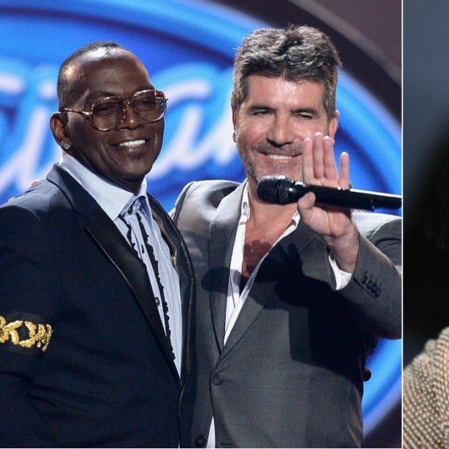 Randy Jackson and Simon Cowell and Gabrielle Union