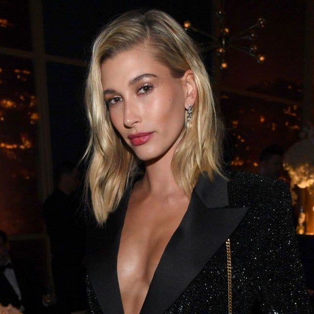 Hailey Bieber at The 2020 InStyle And Warner Bros. 77th Annual Golden Globe Awards Post-Party