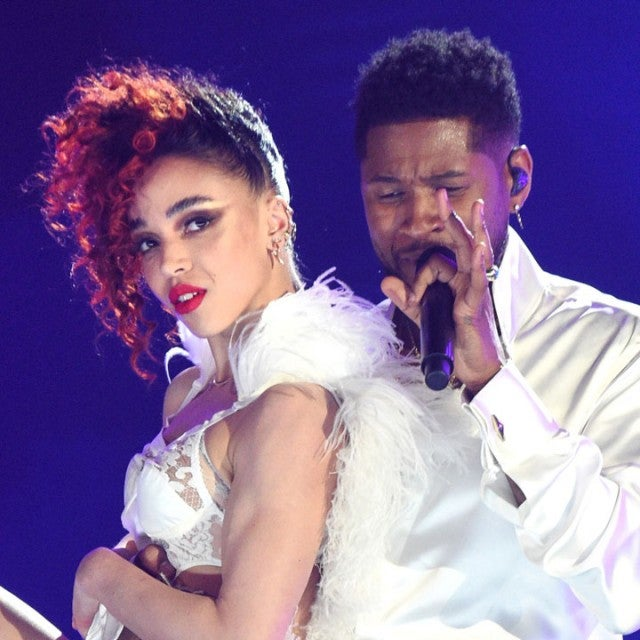 fka twigs and usher perform in 2020 grammys