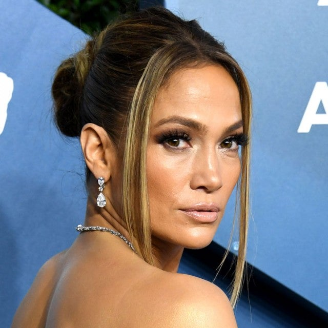 Jennifer Lopez at 2020 sag awards