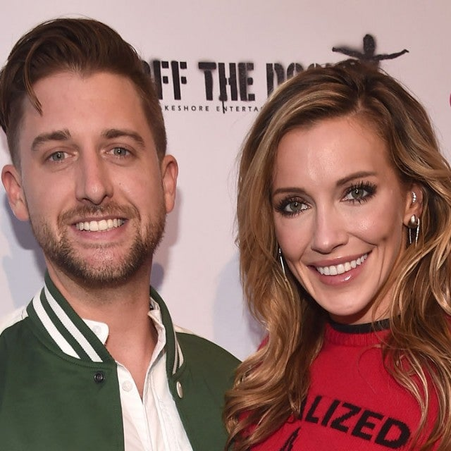 Matthew Rodgers and Katie Cassidy in 2018