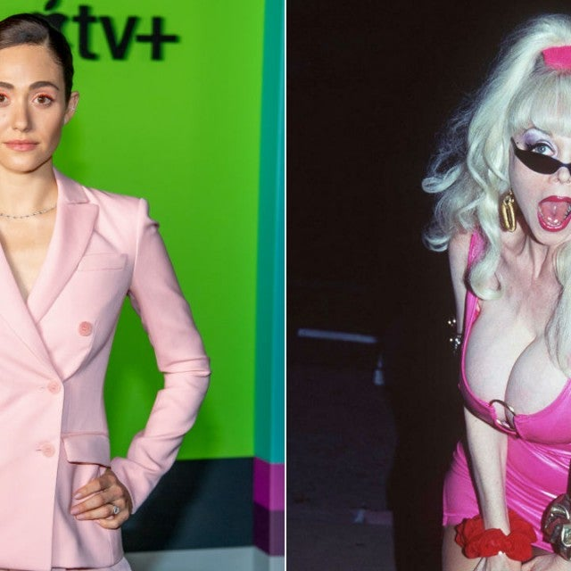 Emmy Rossum and Angelyne
