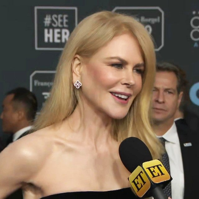 Critics' Choice Awards 2020: Nicole Kidman on Working With Meryl Streep for 'The Prom' (Exclusive)