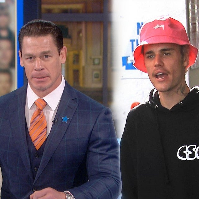 Watch John Cena Call Out Justin Bieber To Get In The Ring With Him! (Exclusive)