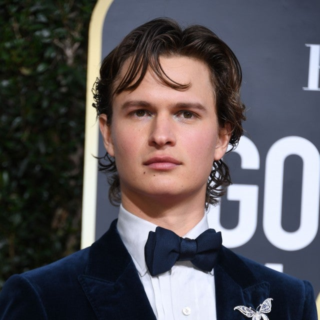 Ansel Elgort 2020 Golden Globes makeup