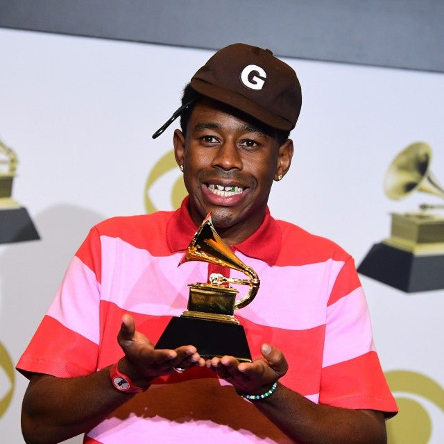 tyler the creator at 2020 grammys