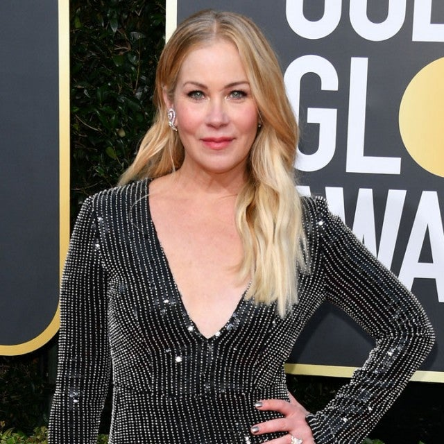 Christina Applegate at the 77th Annual Golden Globe Awards
