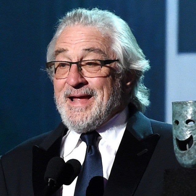 robert de niro at 2020 sag awards