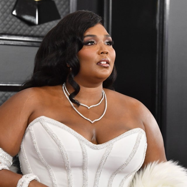 Lizzo at 2020 GRAMMYs beauty