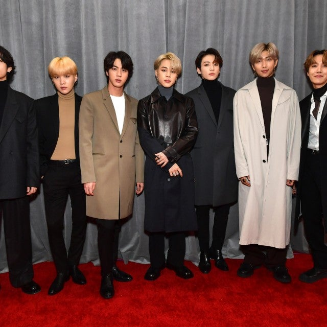 BTS at the 62nd Annual GRAMMY Awards