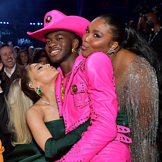 Ariana Grande, Lil Nas X and Lizzo at 2020 grammys