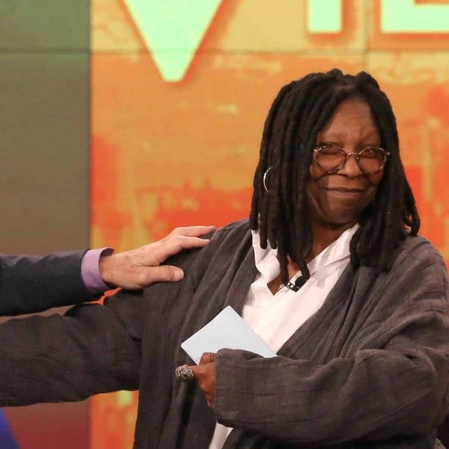 Whoopi Goldberg Patrick Stewart The View