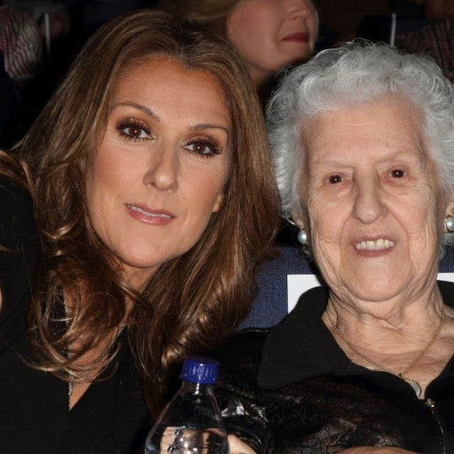 Celine DIon and mother