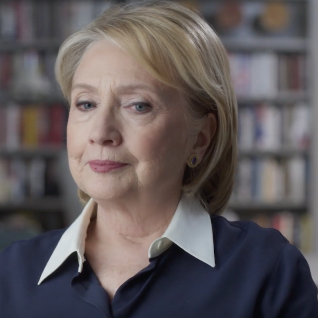 hillary.png Hillary Clinton in the Hulu Doc