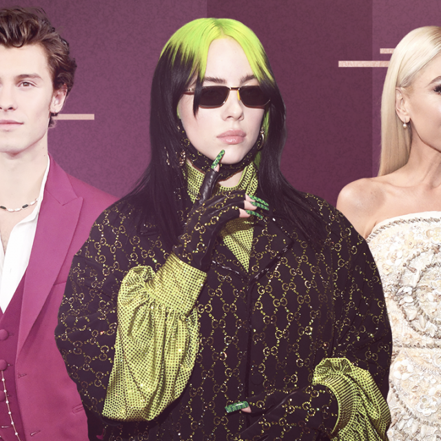 2020 GRAMMYs red carpet arrivals: shawn mendes, billie eilish, gwen stefani