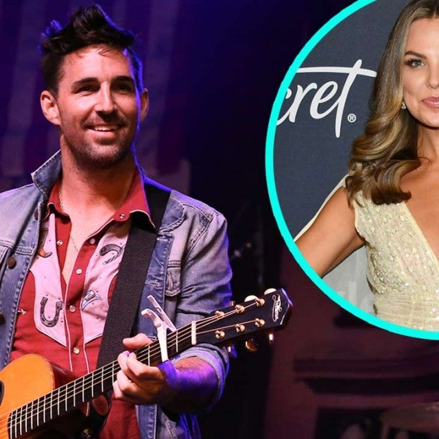 Country singer Jake Owen and Hannah Brown (inset)