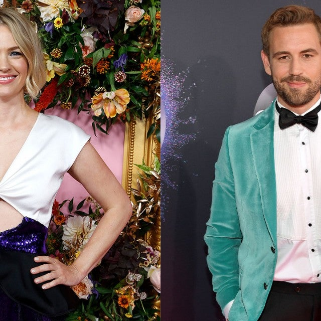 January Jones and Nick Viall