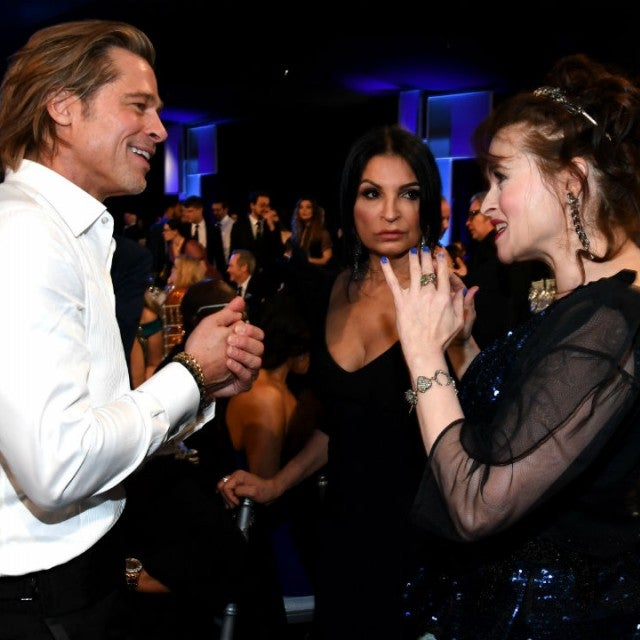 Brad Pitt and Helena Bonham Carter
