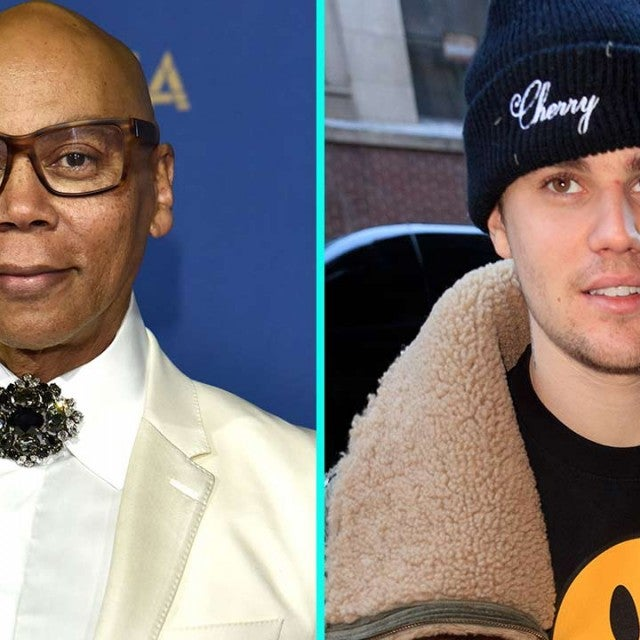 RuPaul and Justin Bieber