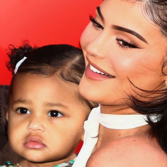 Stormi and Kylie Jenner