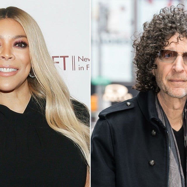 Wendy Williams and Howard Stern