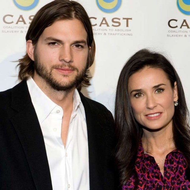 Ashton Kutcher and Demi Moore in 2011