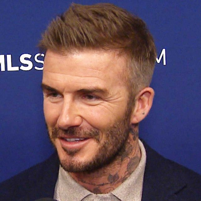 David Beckham Reveals an Adorable Detail From His First Date With Wife Victoria (Exclusive)
