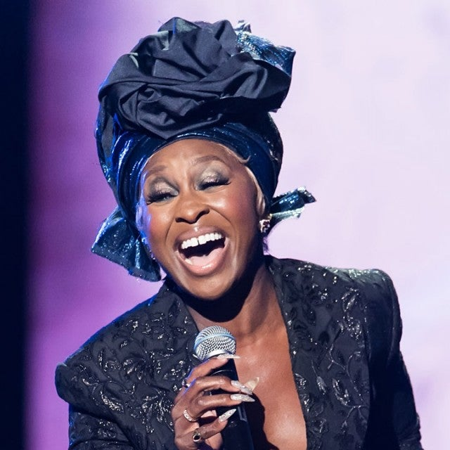 Cynthia Erivo performs on stage during Aretha Franklin Tribute
