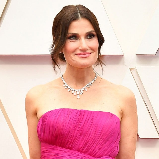 Idina Menzel at the 92nd Annual Academy Awards