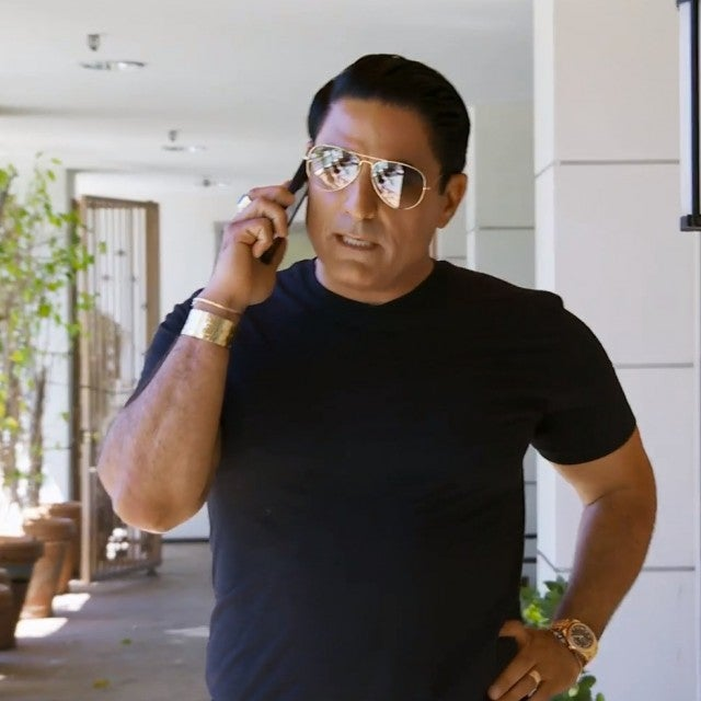 Reza Farahan has a heated phone call with Mercedes 'MJ' Javid on season eight of Bravo's 'Shahs of Sunset.'