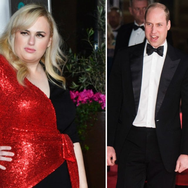 Rebel Wilson and Prince William and Kate Middleton