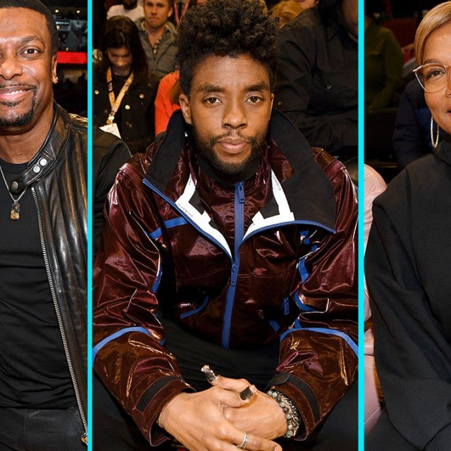 Tiffany Haddis, Chris Tucker, Chadwick Boseman and Queen Latifah