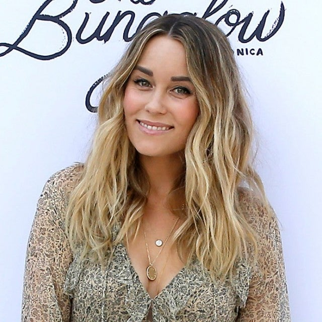 lauren conrad at The Little Market event