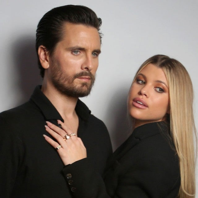 Scott Disick and Sofia Richie in feb 2020