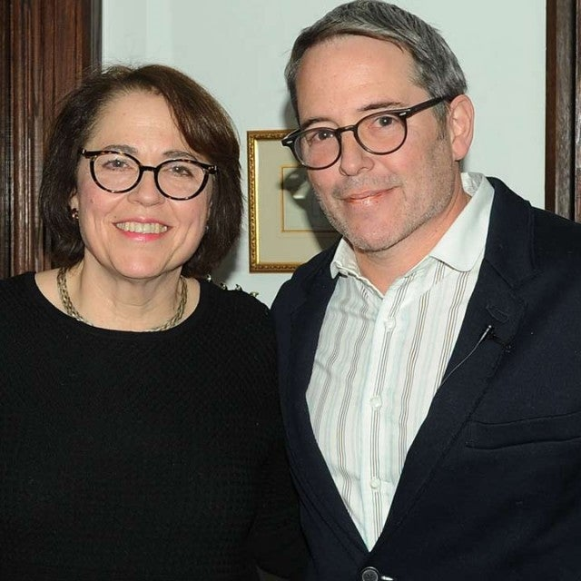 Matthew Broderick and sister Janet Broderick