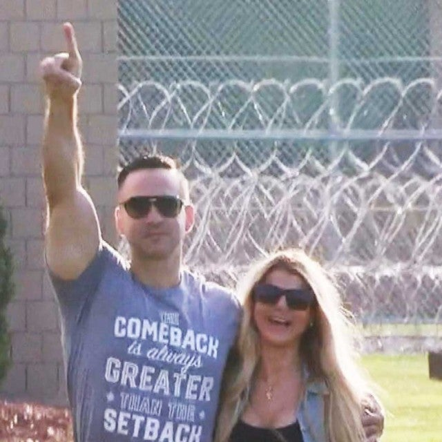 Watch Mike 'The Situation' Sorrentino Leave Prison After Serving 8-Month Sentence (Exclusive)