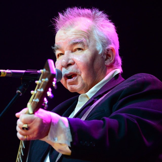 John Prine onstage at Stagecoach 2014
