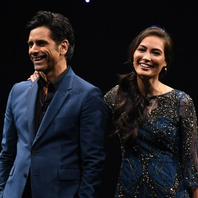 John Stamos and Caitlin McHugh