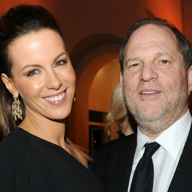 Kate Beckinsale and Harvey Weinstein