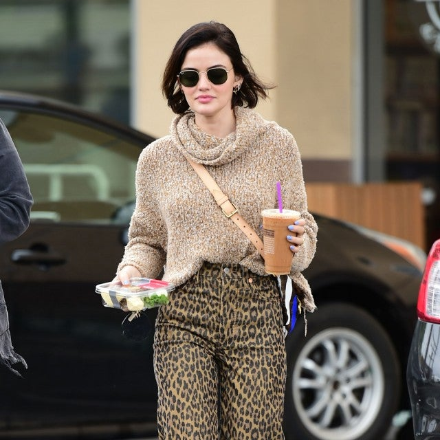 lucy hale gets coffee on 3/17