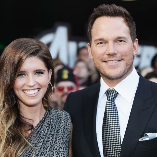 chris pratt and katherine schwarzenegger at the endgame premiere