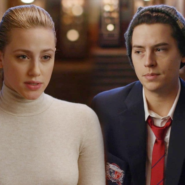 'Riverdale': Lili Reinhart and Cole Sprouse Dish on Season 4's Spooky Stonewall Prep Mystery (Exclusive)