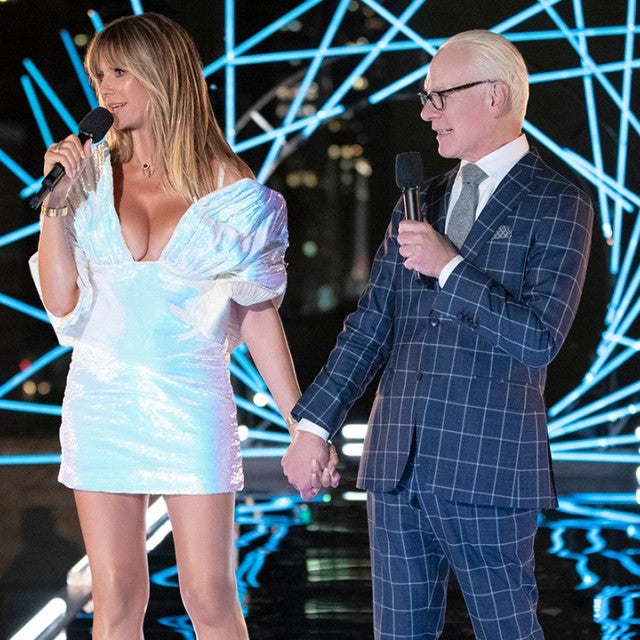 Heidi Klum and Tim Gunn on Making the Cut finale 1280